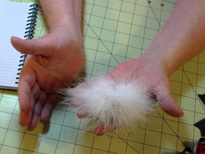 HOW TO make your own feather puff