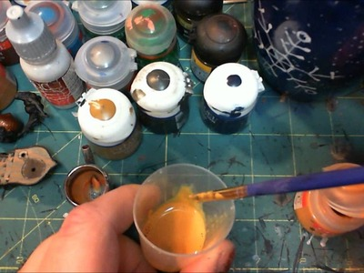 How to Thin Citadel Paint for Airbrushing