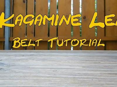 Kagamine Len Cosplay: Belt Tutorial
