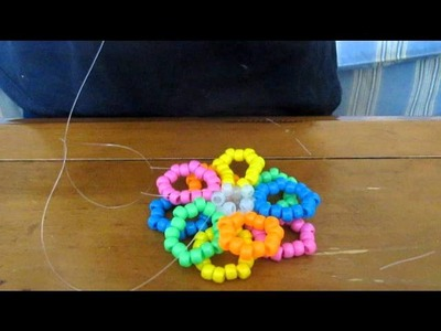 Kandi flower tutorial
