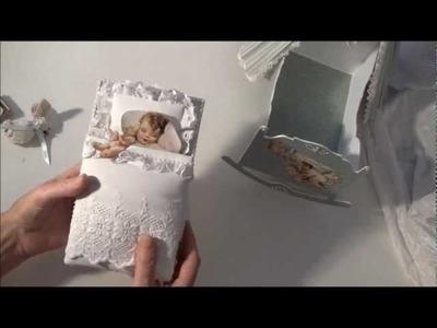 Little darlings mini album in the cradle