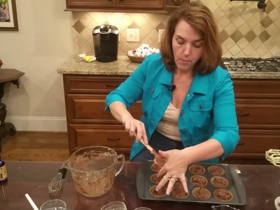 Luscious Low Carb Chocolate Chocolate Chip Muffin