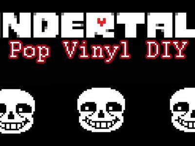 Make Your Own Pop Vinyll. Sans From Undertale