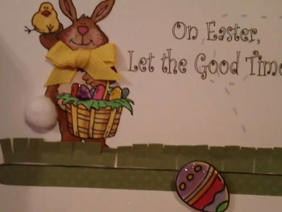 Making a Spinner Card: Easter Card 2011