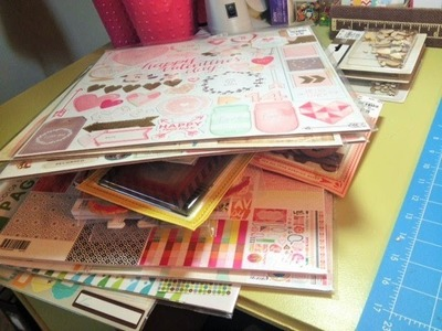 Mega Tuesday Morning Scrapbooking Haul