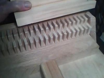 My Single Blade Box Joint Jig Build