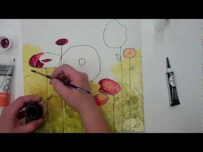 Pebeo - Vitrail on canvas