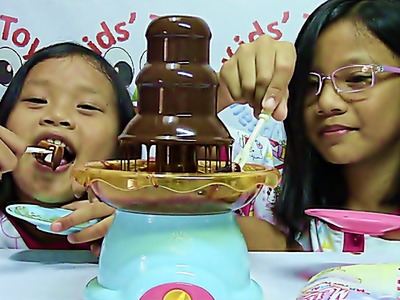 Play Go Chocolate Fountain Makes Fun and Delicious Desserts - Kids' Toys