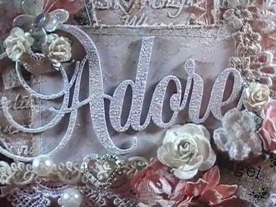 "Shabby Chic ""Adore"" Mini Album"