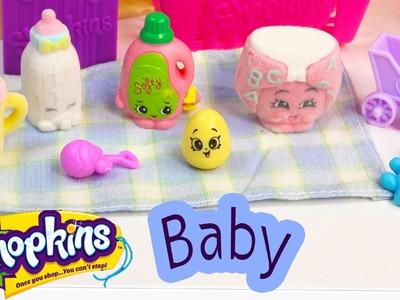 Shopkins Season 2 Fluffy Baby So Cool Fridge Refrigerator Toy Playset Mini Eggs Playing Video