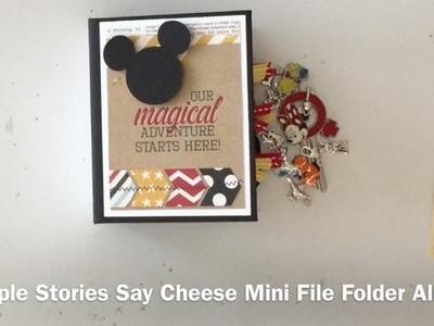Simple Stories Say Cheese Mini File Folder Album