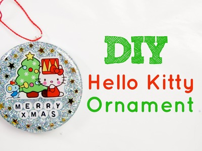 Watch Me Make: Hello Kitty Resin Ornament