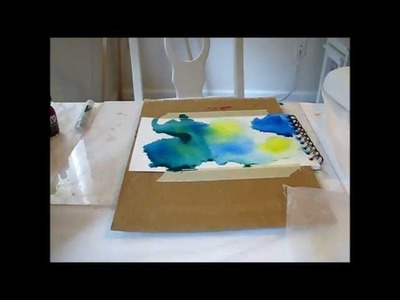 Art Journal Tutorial Liquitex Acrylic Ink