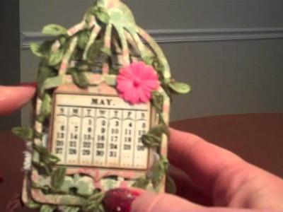 Bird Cage Calendar