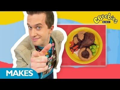 CBeebies: Mister Maker Around The World - Fake Food  - Mini Big Make