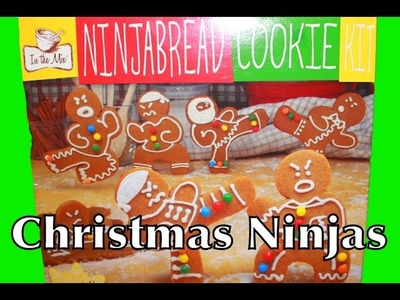Christmas Cookies Recipe Gingerbread Ninjabread Nerdy Nummies Ninja Bread Cookie Toy Sugar Cookies