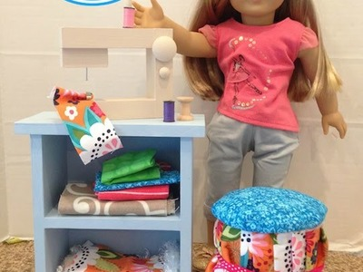 DIY American Girl Doll Stool