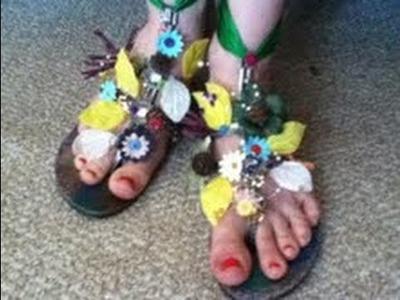 DIY Fairy Shoes