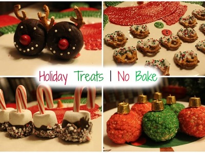 DIY HOLIDAY TREATS | NO BAKE
