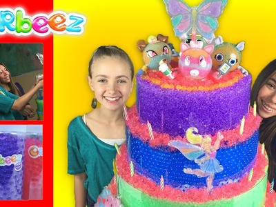 Giant Orbeez Crush Cake - Featuring the Orbeez Girls | Official Orbeez