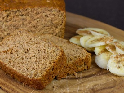 Gluten Free Banana Bread - Vegan Recipe (No eggs, Dairy or Oil)!