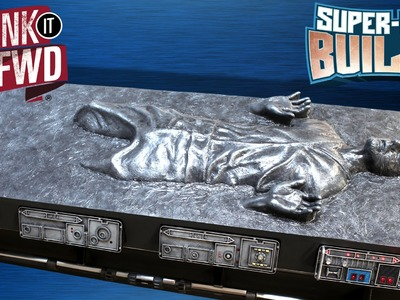 Han Solo in Carbonite - Star Wars Coffin Coffee Table – SUPER FAN BUILDS -  Prank It FWD