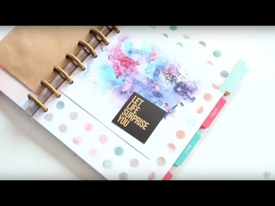 Happy Planner Fun with the New MAMBI Accessories