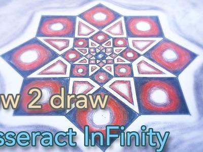 HOW 2 Draw Tesseract - Octagram Into Infinity