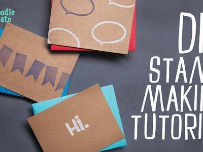 How To Carve Your Own Rubber Stamps