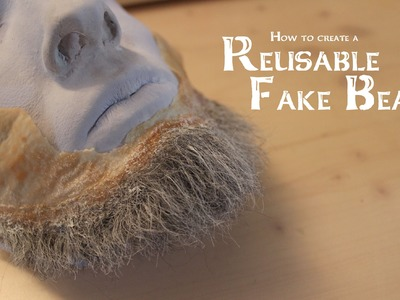 How to create a Reusable Fake Beard