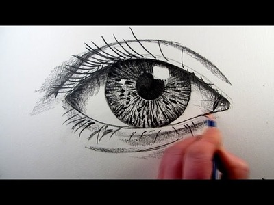 How To Draw A Realistic Eye: Narrated Step by Step