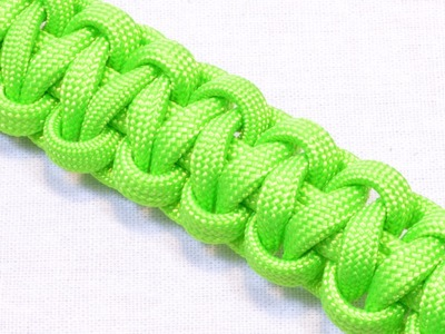 How to make a Paracord Survival Bracelet - Basic Cobra - THE ORIGINAL - Bored?Paracord!