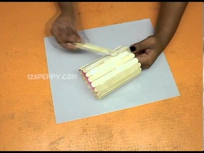 How to Make a Popsicle Cloth Holder