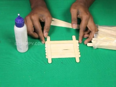 How to Make a Popsicle Stick Mobile Stand
