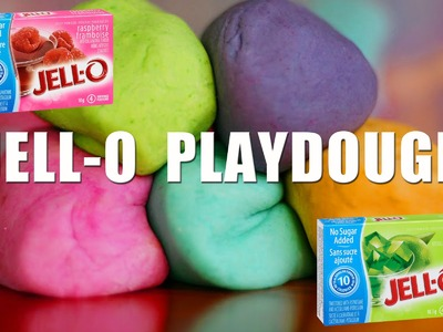 How to make Playdough with JELLO | No Cook!