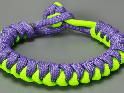 How to make Snake paracord bracelet