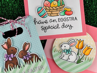 Intro to Eggstra Special Easter + 2 cards and a goodie bag from start to finish