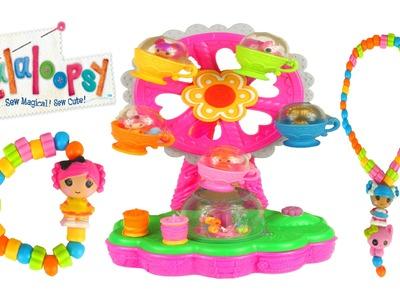 LALALOOPSY Jewelry Maker Playset Toys Ferris Wheel Nenuco Baby Doll Lalaloopsy Dolls