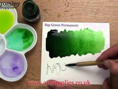 Liquitex Professional Acrylic ink! Sap Green Permanent 315