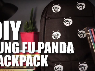 Mad Stuff With Rob - DIY Kung Fu Panda Backpack | Kung Fu Panda 3 special