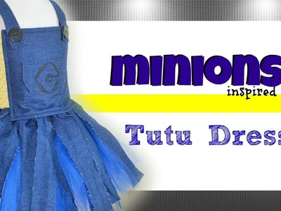 Minion Inspired Costume Tutu Dress