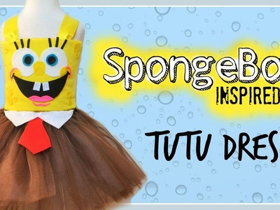 NO- SEW SpongeBob Inspired Costume Tutu