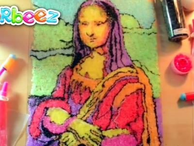 Orbeez Crush Art Challenge: The Mona Lisa | Official Orbeez