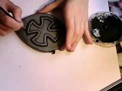 Painting foam to look like armor.metal - tutorial by GERMIA