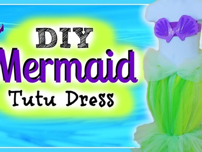 Princess Ariel Inspired Costume Tutu - Mermaid Tutu Tutorial