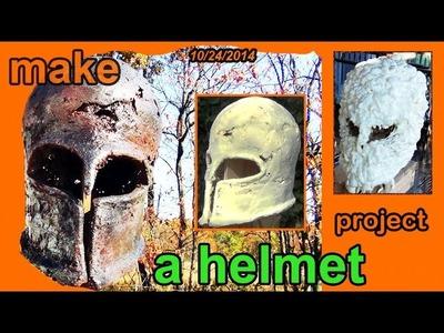 Project 10: A Chicken Wire and Foam Helmet - Cut List Challenge 2014