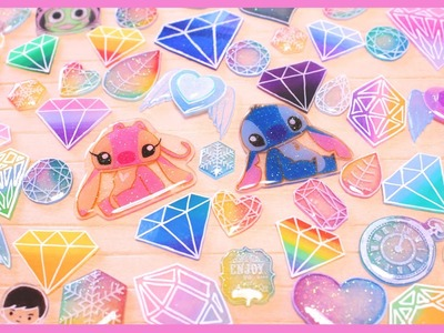 Shrink Plastic Update: Stitch & Angel and GEMS! ♡