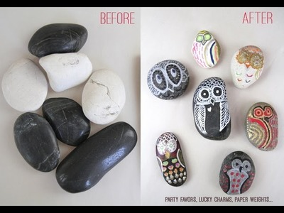SUPER EASY KID CRAFT THAT ROCKS. LITERALLY.