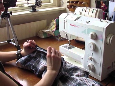 Upcycling an old shirt!