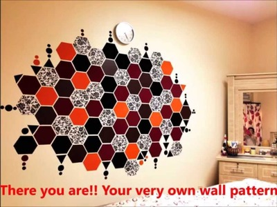 Wall decoration. home decor . room art. cheap ideas. instant wall makeover